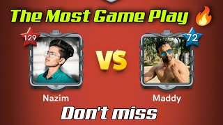 🤼 MOHAMMAD VS NAZIM 🤼 /Carrom Pool / Trick And Trips Game play/ Gaming Nazim | The Most Game Play 🔥 screenshot 4