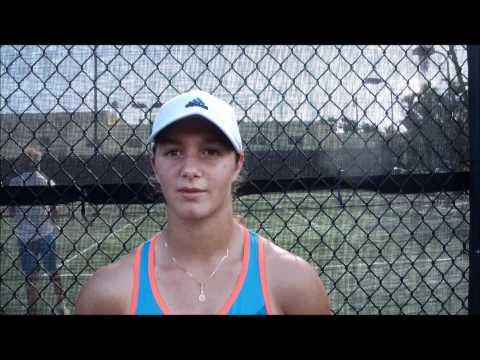 Katerina Stewart  and Highlights  50th Jr Orange Bowl Int'l Tennis Championship