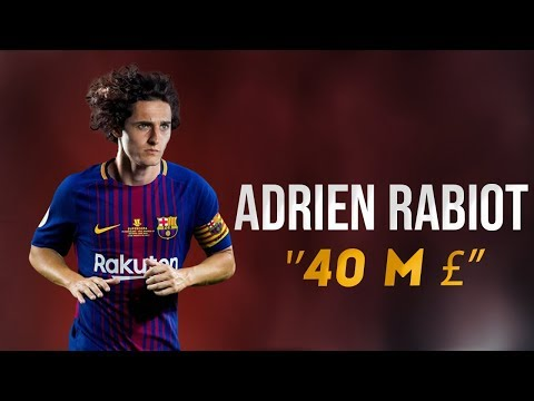 Adrien Rabiot - 2018 ● Welcome To FC Barcelona (40 Millions $)