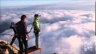 Прыжки с горы Ай-Петри.Банджи-джампинг!