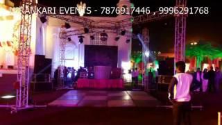 dj concept four side led wall by nirankari event & wedding planner panipat haryana