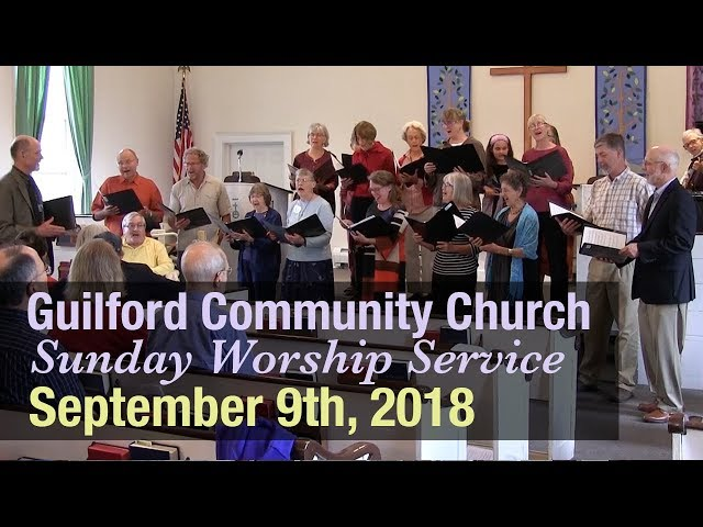 Guilford Church Service -9/9/18