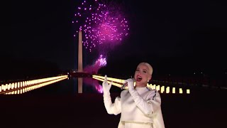 "Katy Perry Performs ""Firework"" As Inauguration Day Comes to an End 
