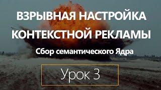Взрывная настройка контекстной рекламы Яндекс Директ. Урок 3