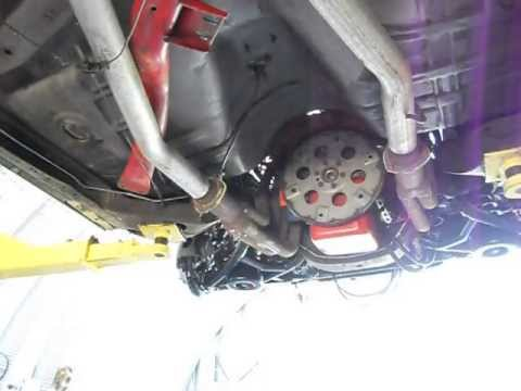 removing the flywheel 67 chevelle - YouTube