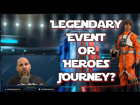 SWGOH Speculation: Luke Skywalker's Red 5 Coming to Star Wars Galaxy of Heroes? Legendary or Journey |
