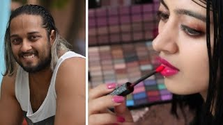 Husband does my voiceover | Makeup Video | SuperWowStyle Prachi