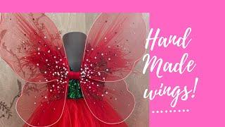 МК крылья для бабочки своими руками | Платье бабочка | Бесплатные мастер-классы