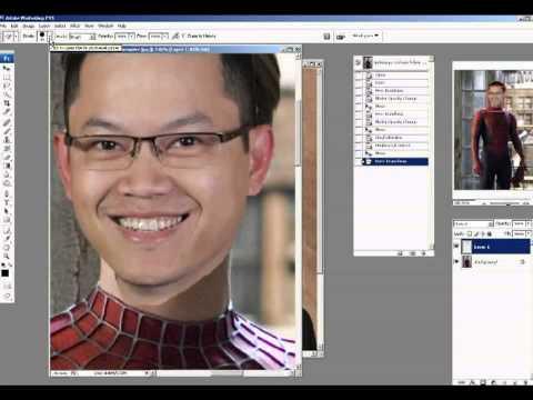 Hướng dẫn cách ghép mặt vào hình Photoshop 1/2 (NO masking)