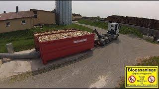 Brennholz Trocknung an BioGas-Energiehof | Brennholzhandel Herrieden