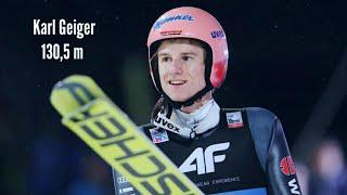 Karl geiger 130,5 m (23.02.2019 ...