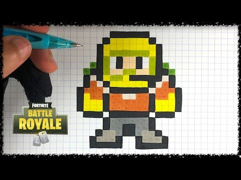 Pixel Art Rapace Fortnite Youtube
