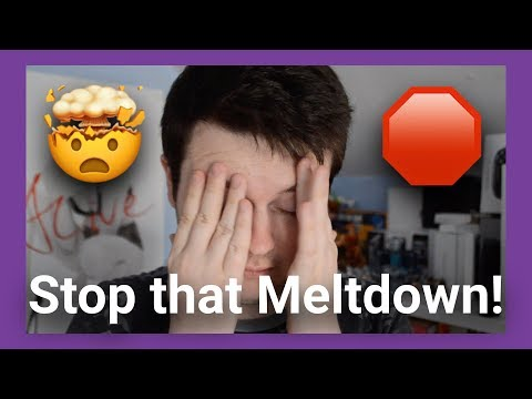 How to Help Stop An Autistic Meltdown