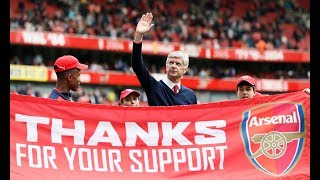 Arsene Wenger: 22 years and out at Arsenal FC