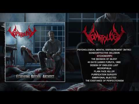 VOMITOLOGY - ECTOTHERMS BUTCHER ARCHITECT (FULL ALBUM STREAM) [LIMITED BLASTING PRODUCTION]