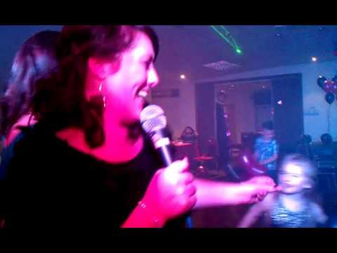 Ducks karaoke @ Fleetwood bowling club Sian birthd