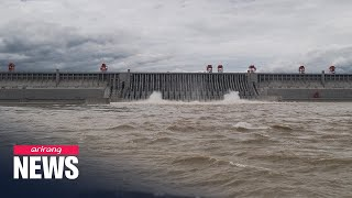 Three Gorges Dam under enormous stress as heavy rain slams China