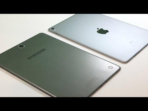 Galaxy Tab A 9.7 vs iPad Pro 9.7!