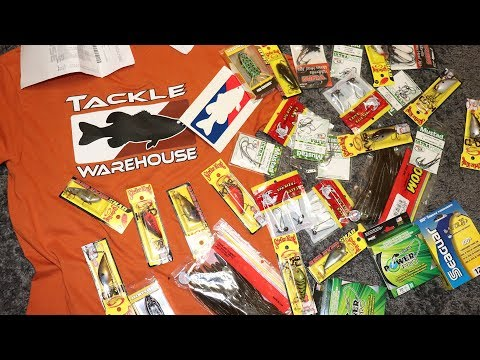 Black Friday Tackle Warehouse Unboxing: Fishing Lures, Line, Hooks, and More!