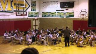 Morton Jr. High Orchestra, Awards Concert 2011, Variations on an Irish Tune.MOV