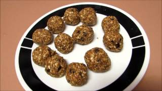 Taste Test No Bake Energy Bites Recipe