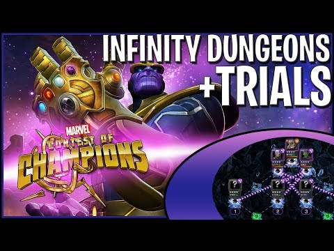 Infinity Dungeons and Trials! Lets go Subs!