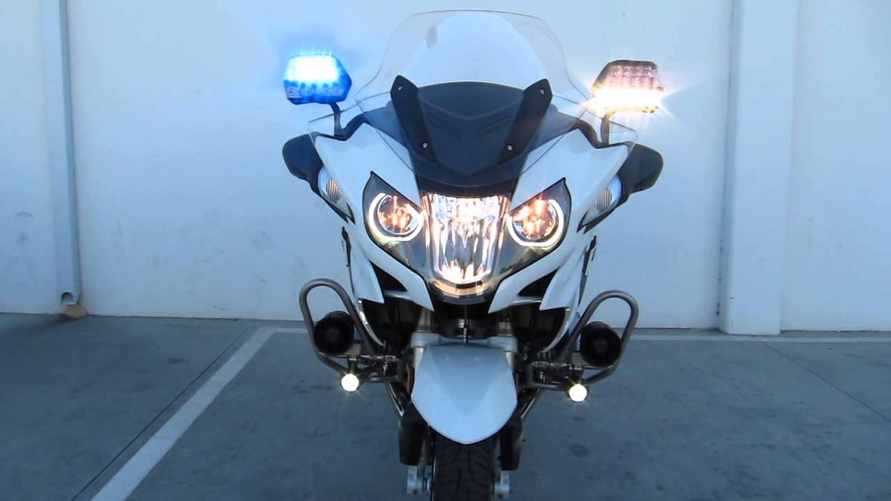 bmw r 1200 rt p police motor alternating headlight feature youtube. Black Bedroom Furniture Sets. Home Design Ideas