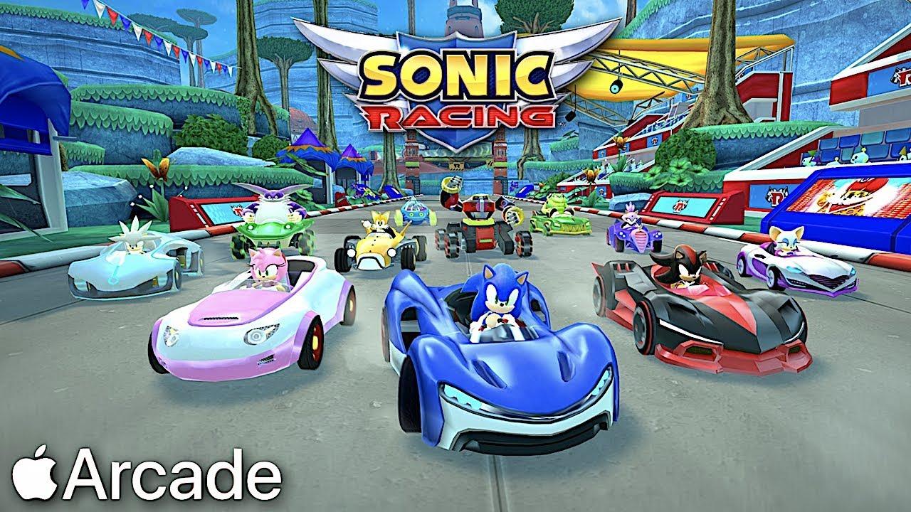 Výsledek obrázku pro apple arcade sonic racing