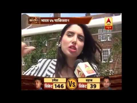 Pakistani Anchor Zainab Abbas vs Indian Reporter