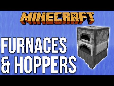 Lag Busting: Furnaces On Top Of Hoppers [Minecraft Myth Busting 108]
