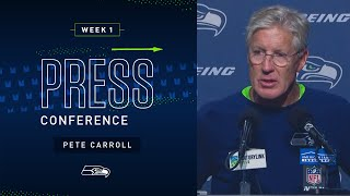 Head Coach Pete Carroll Postgame Press Conference vs Bengals   2019 Seattle Seahawks
