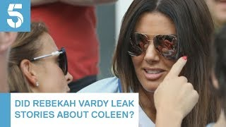 Football WAGs Colleen Rooney and Rebekah Vardy clash in 'leaked stories' row | 5 News