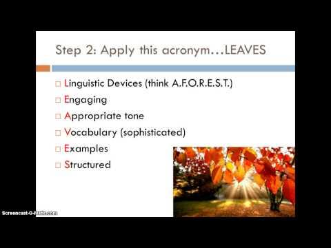 GCSE English Language Paper 1 walk through