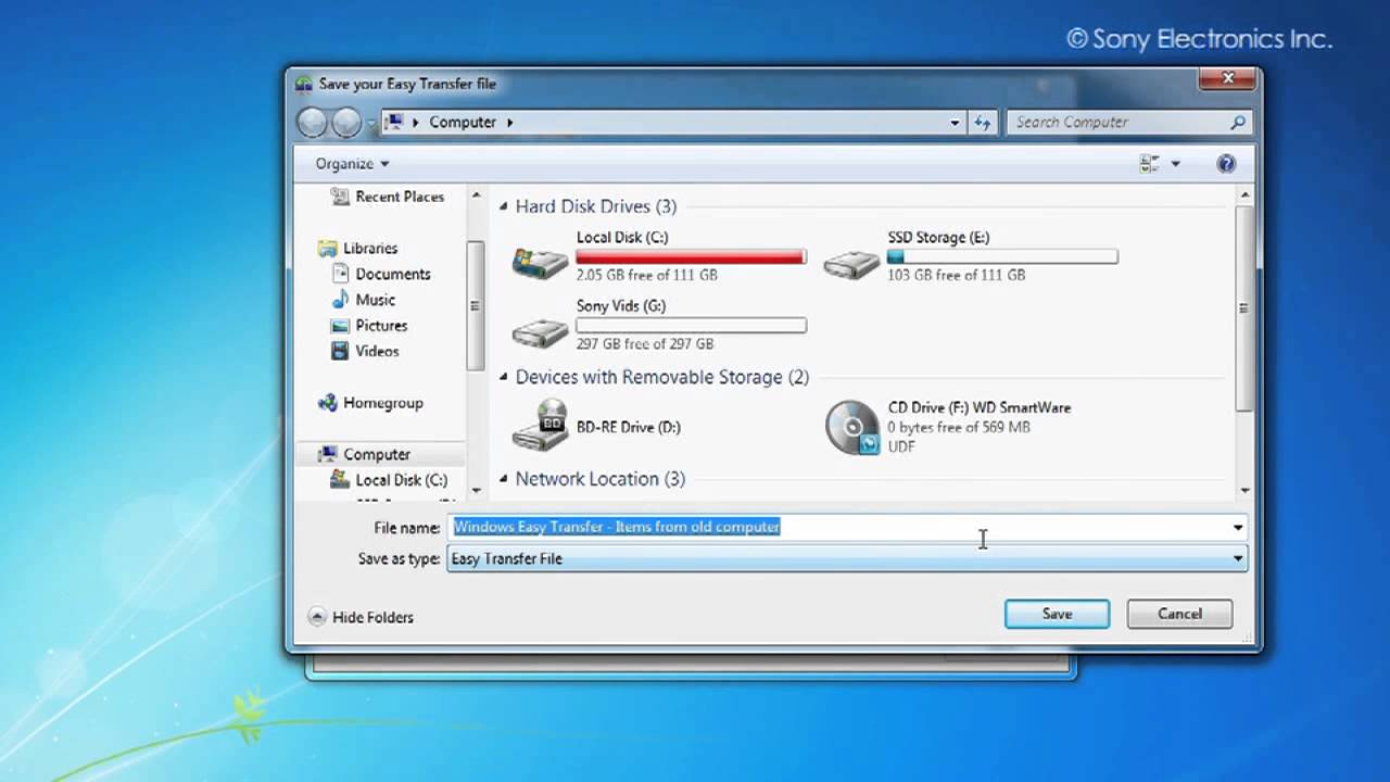 How to Backup and Restore your Windows Data using Windows Easy Transfer?