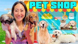 PUPPY PET STORE GRAND OPENING!!