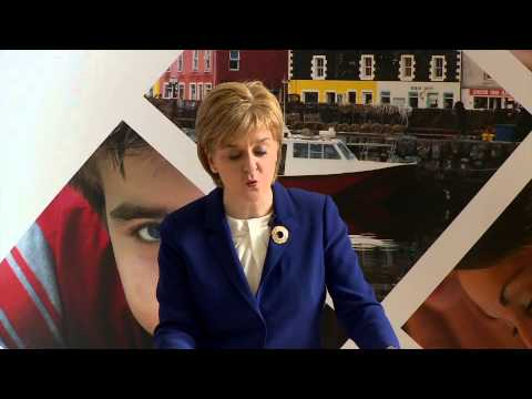 First Minister's keynote speech at Wester Hailes Education Centre