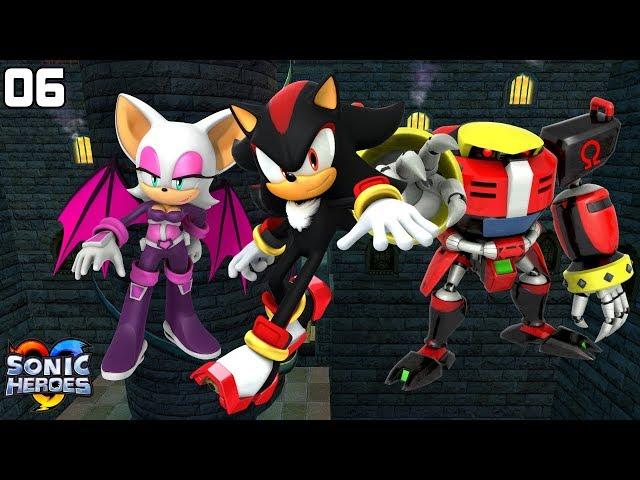 Sonic Heroes (GC) [4K] - Team Dark (6/7)