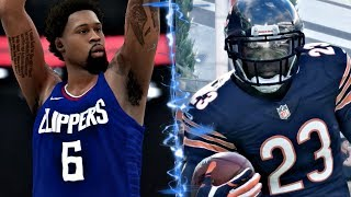 Can Devin Hester Return A Punt For A Touchdown Before Deandre Jordan Can Make A Free Throw?