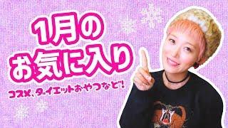 1月のお気に入り♡〜コスメ・ダイエット食など〜