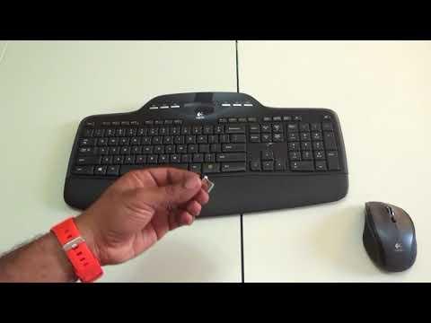 659005e1fe4 Logitech Wiireless Keyboard/Mouse MK700/MK710 Review - YouTube