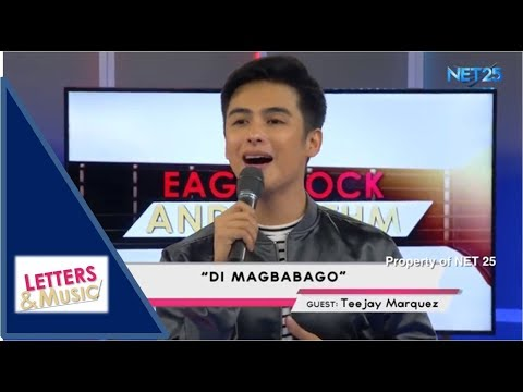 TEEJAY MARQUEZ - DI MAGBABAGO (NET25 LETTERS AND MUSIC)