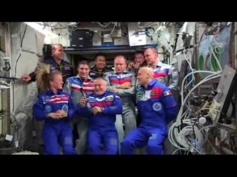 NASA - News Conference from International Space Station