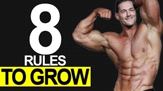 8 Muscle Building Diet RULES (EVERYTHING YOU MUST KNOW!)