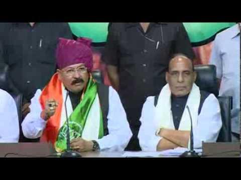 Shri Satpal Maharaj Join BJP in the presence of Shri Rajnath Singh