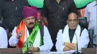 Shri Satpal Maharaj Join BJP in the presence of Shri Rajnath Singh