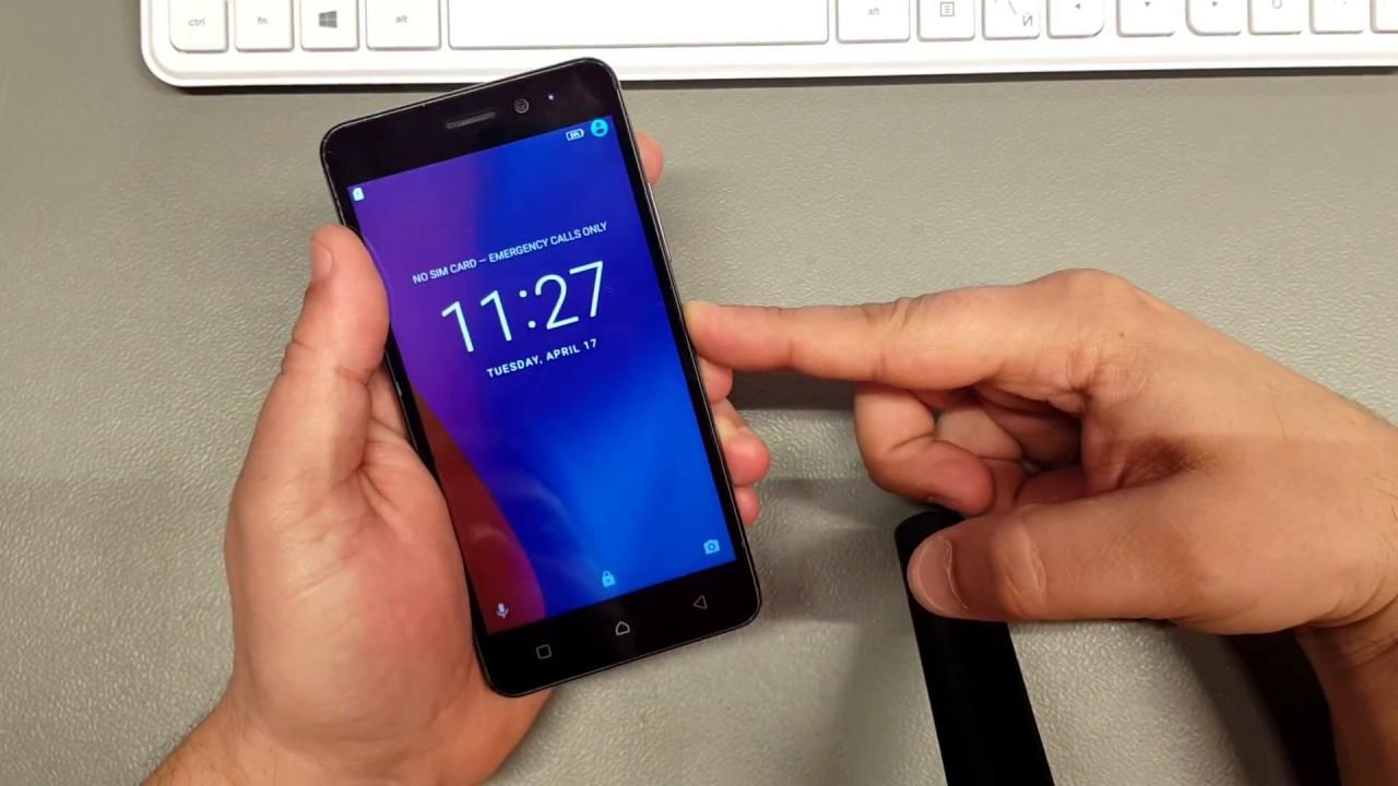 Mobile Info: Lenovo Vibe S1 Lite Reset
