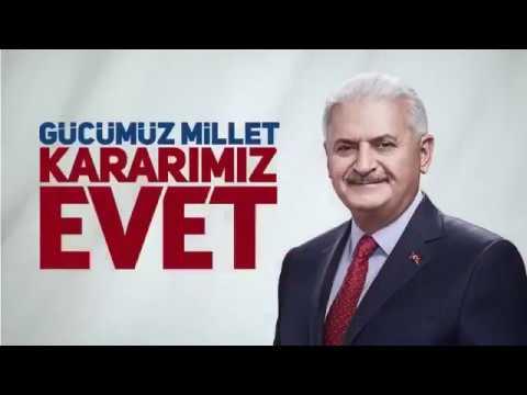 """Ak Parti'nin referandum şarkısı: """"Dirilişe evet, Yükselişe evet, Vatan için Milyonlarca evet"""""""