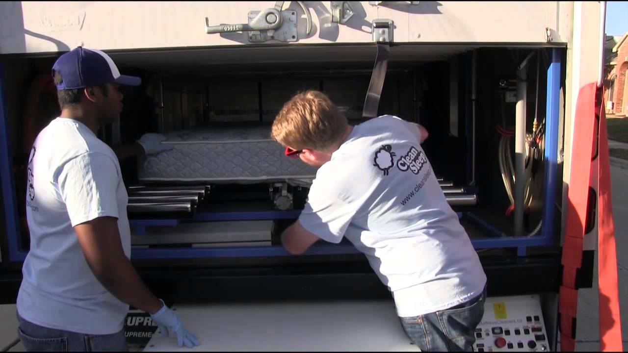 Professional Mattress Cleaning with Clean Sleep