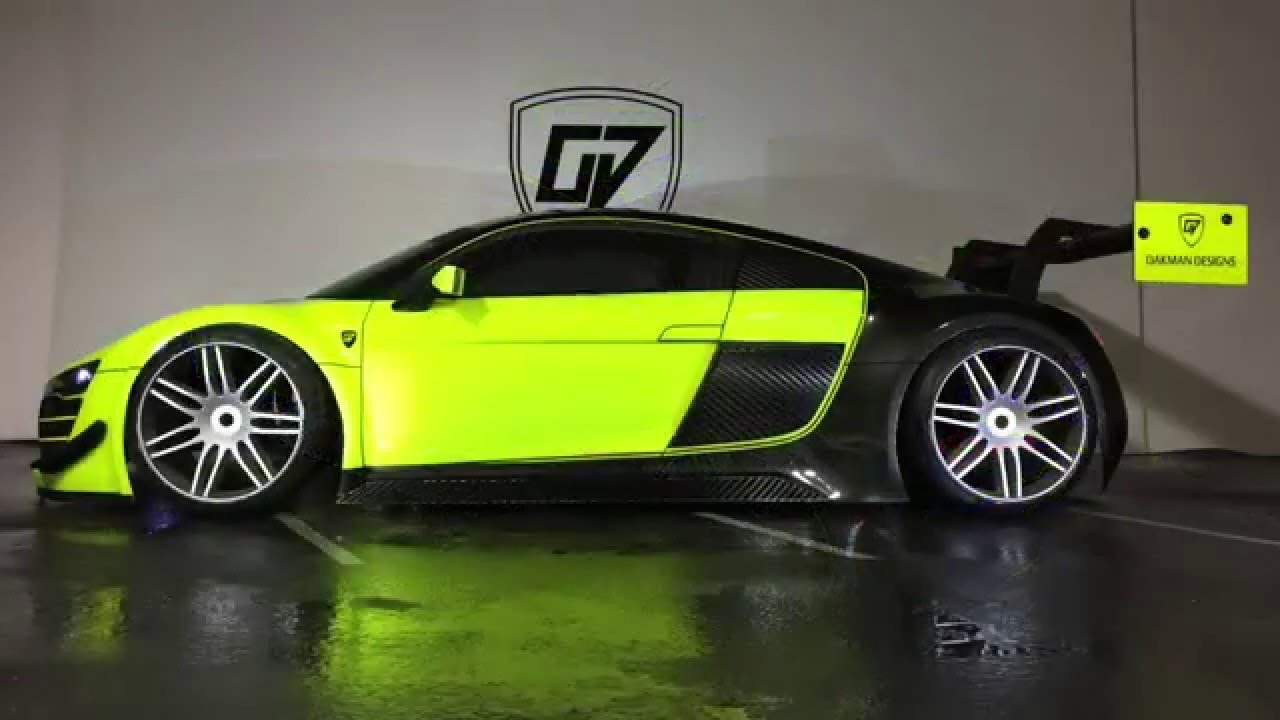 Oakman Designs Custom Painted Losi 1 6 Audi R8 Wrt Lms