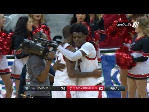 Men's Basketball Highlights: Cincinnati 82, Tulsa 74 (Courtesy CBS Sports Network)